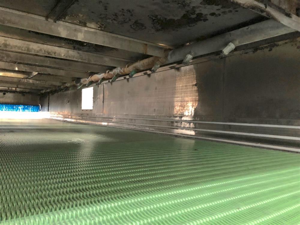Image SJI Bottle Warmer / Cooling Tunnel - 8ft X 28ft, Stainless Steel 1474542