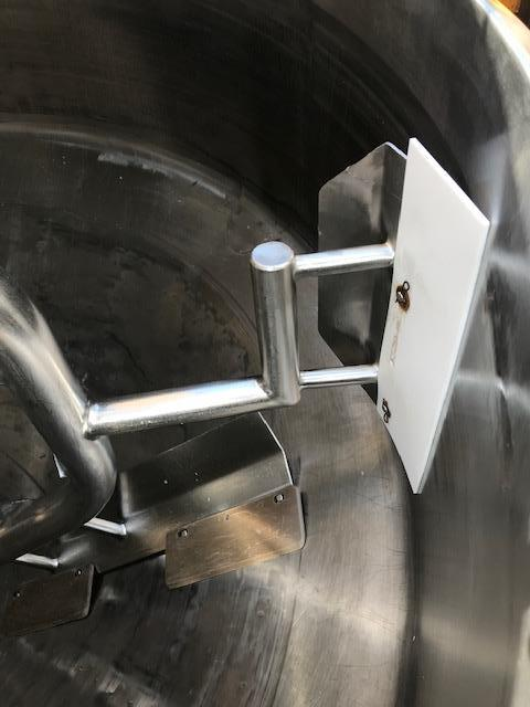 Image 500 Gallon APV CHESTER JENSEN Jacketed Scrape Double Motion Kettle - Stainless Steel  1474708