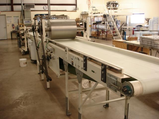 Image Bar Line Conveyor with 2 Adjustable Height Compression Rollers 1474822