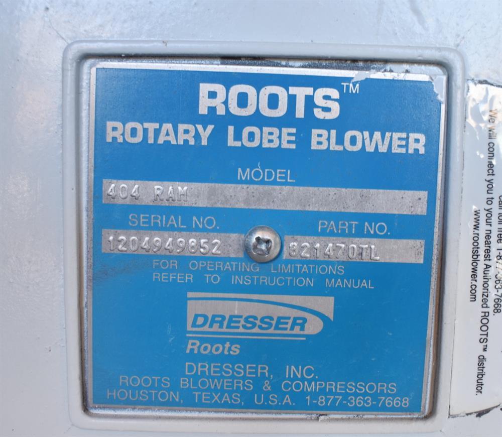 Image ROOTS RAM 404 Rotary Lobe Blower 1474898