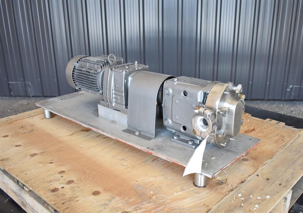 Image WAUKESHA Rotary Lobe Pump - Model 15, Stainless Steel 1474919