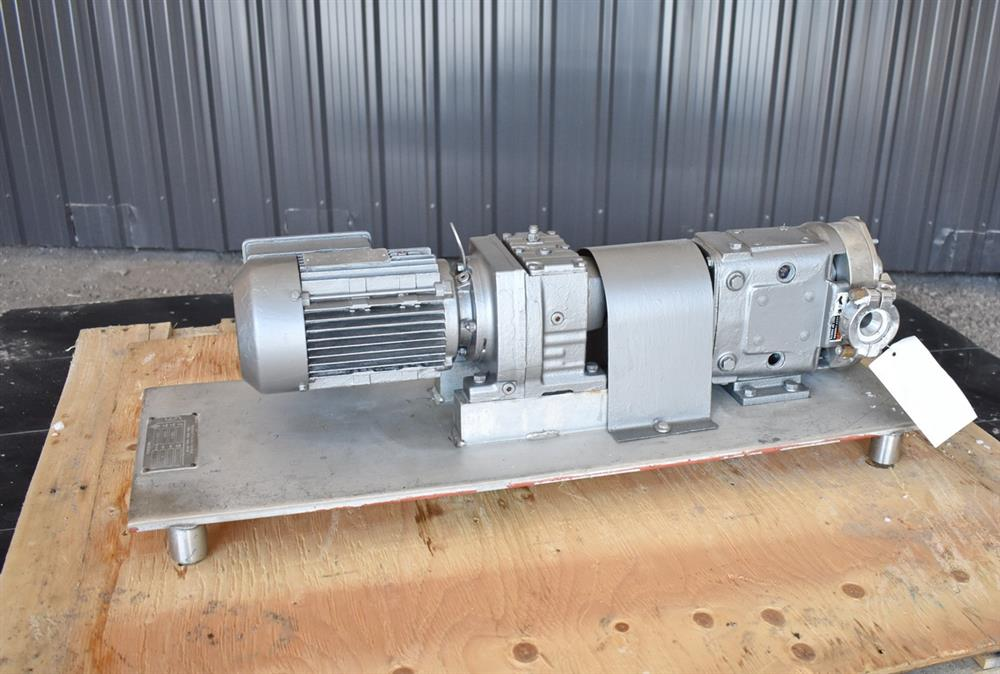 Image WAUKESHA Rotary Lobe Pump - Model 15, Stainless Steel 1474920