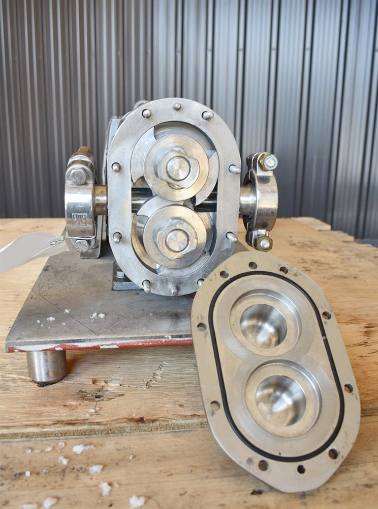 Image WAUKESHA Rotary Lobe Pump - Model 15, Stainless Steel 1474921