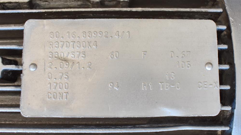 Image WAUKESHA Rotary Lobe Pump - Model 15, Stainless Steel 1474923