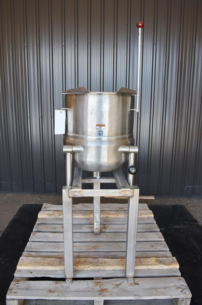 Image 12 Gallon Jacketed Tilting Kettle - Stainless Steel 1474943
