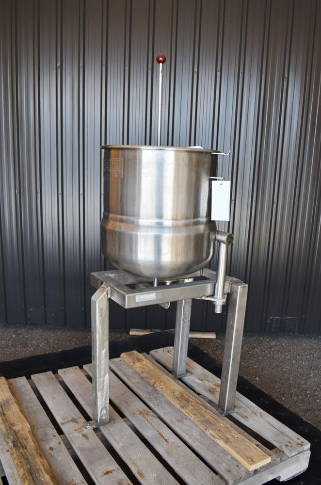 Image 12 Gallon Jacketed Tilting Kettle - Stainless Steel 1474945