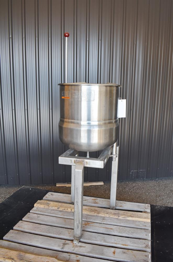 Image 12 Gallon Jacketed Tilting Kettle - Stainless Steel 1474946