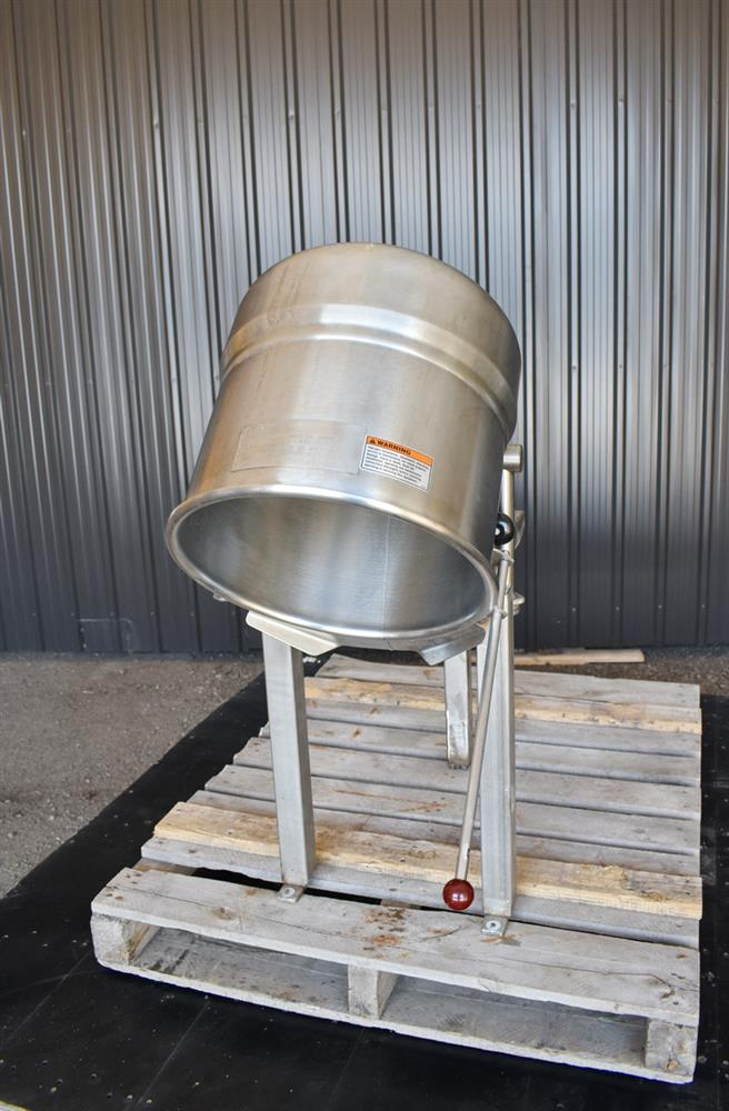 Image 12 Gallon Jacketed Tilting Kettle - Stainless Steel 1474950
