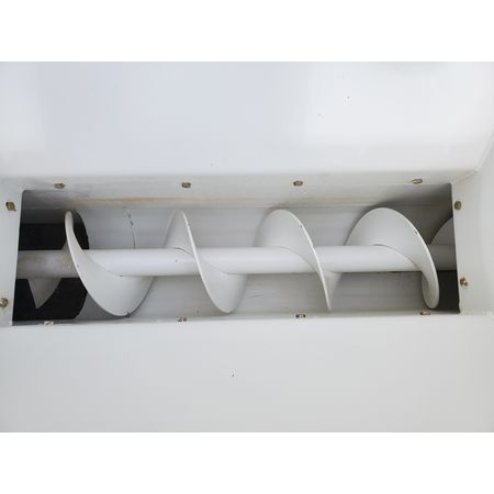 Image 9in Dia. X 20ftL Drop-Bottom U-Trough Screw Conveyor 1475062