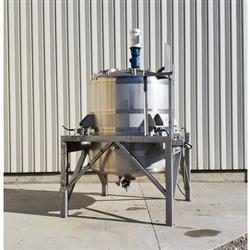 Image 750 Gallon WALKER Weigh Batch Mix Tank Processor - 316 Stainless Steel 1475083