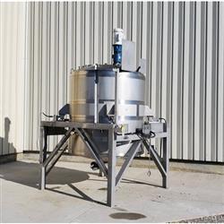 Image 750 Gallon WALKER Weigh Batch Mix Tank Processor - 316 Stainless Steel 1475084