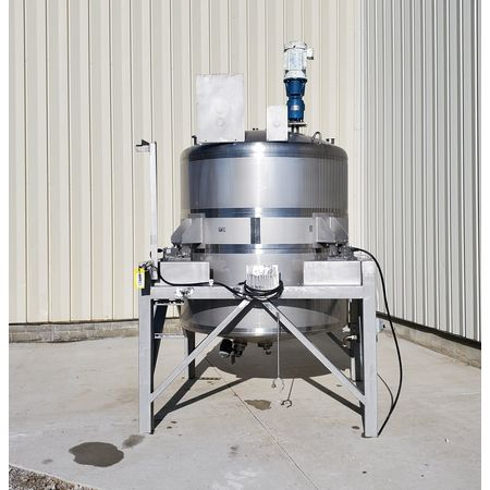Image 750 Gallon WALKER Weigh Batch Mix Tank Processor - 316 Stainless Steel 1475085