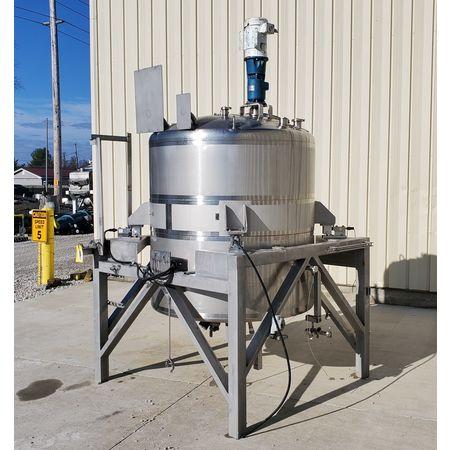 Image 750 Gallon WALKER Weigh Batch Mix Tank Processor - 316 Stainless Steel 1475087