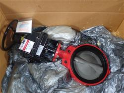 Image 10in ASAHI AMERICA Electric Actuated Butterfly Valve Remote Control RCE Series - Unused 1475182