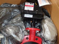Image 10in ASAHI AMERICA Electric Actuated Butterfly Valve Remote Control RCE Series - Unused 1475184