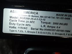 Image 10in ASAHI AMERICA Electric Actuated Butterfly Valve Remote Control RCE Series - Unused 1475186