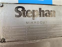 Image STEPHAN MC15 Microcutter 1475287