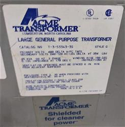 Image ACME Large General Purpose 45 KVA Transformer 1476077