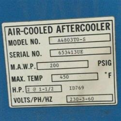 Image INGERSOLL RAND Compressed Air Dryer 1476399