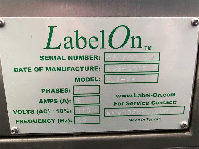 Image LABELON Pressure Sensitive Top Wipe-On Labeler 1478572