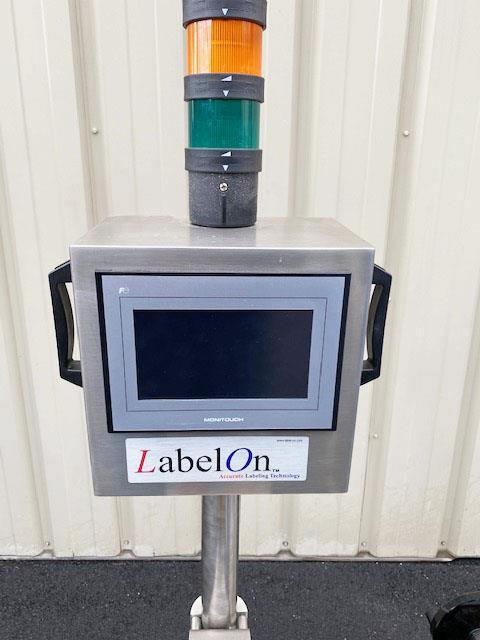Image LABELON Pressure Sensitive Top Wipe-On Labeler 1478569