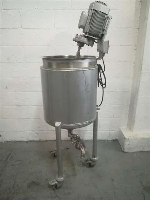 Image 28 Gallon Jacketed Tank - Stainless Steel 1479413