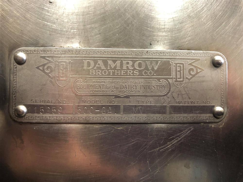 Image 500 Gallon DAMROW Processor 1481740