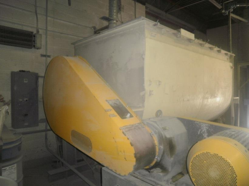 Image 350 Cu. Ft. K&H MFG. Jacketed Double Ribbon Blender - Stainless Steel 1484098