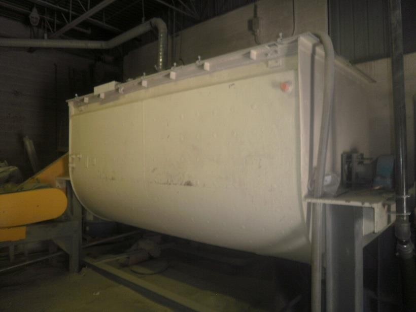 Image 350 Cu. Ft. K&H MFG. Jacketed Double Ribbon Blender - Stainless Steel 1486674
