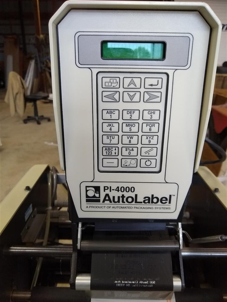 Image AUTOMATED PACKAGING SYSTEM APS AUTOBAG HS 100 Excel with PI 4000 Printer 1484195