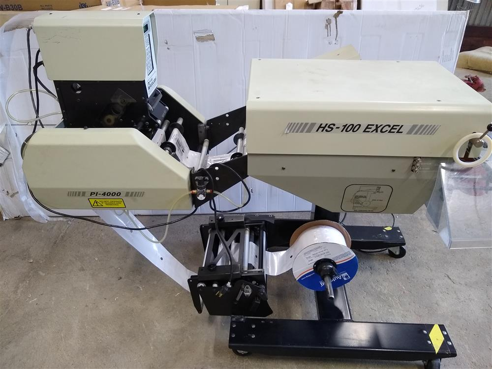 Image AUTOMATED PACKAGING SYSTEM APS AUTOBAG HS 100 Excel with PI 4000 Printer 1484196