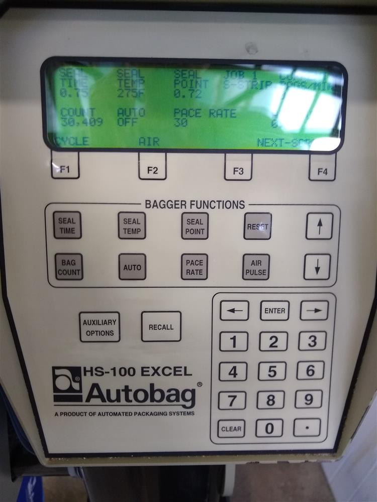Image AUTOMATED PACKAGING SYSTEM APS AUTOBAG HS 100 Excel with PI 4000 Printer 1484198