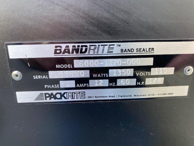 Image BAND-RITE Continuous Bag Sealer - Model 6000-1120-000 1484282