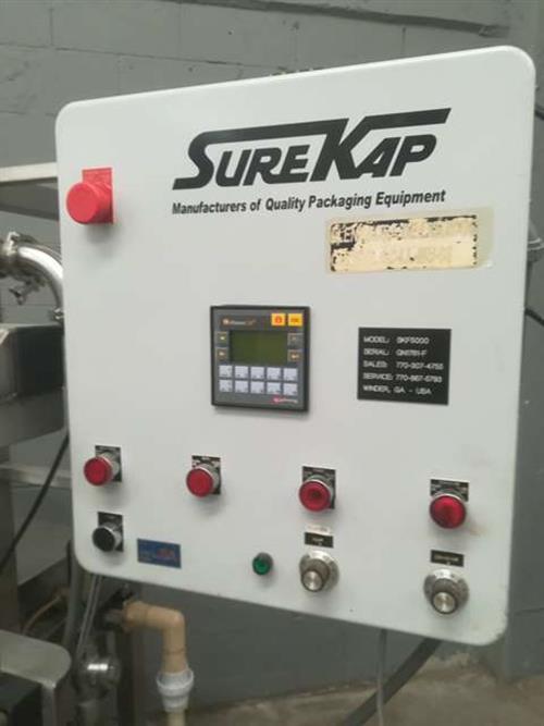 Image SURE-PAK SKF 5000  Pressure Gravity Liquid Filler 1485998
