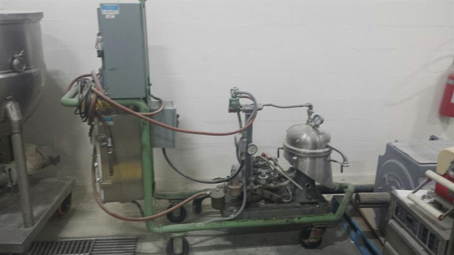 Image WESTFALIA SA1-02-175 High Speed Separator/Centrifuge 1486305