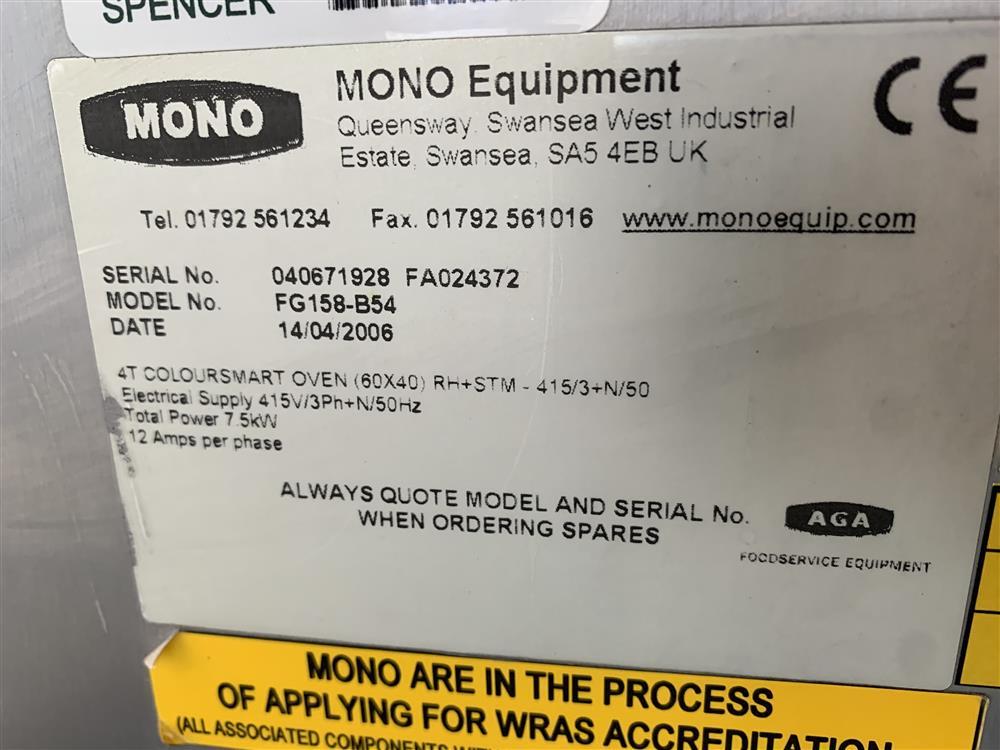 Image MONO Bake Off Oven 1486319