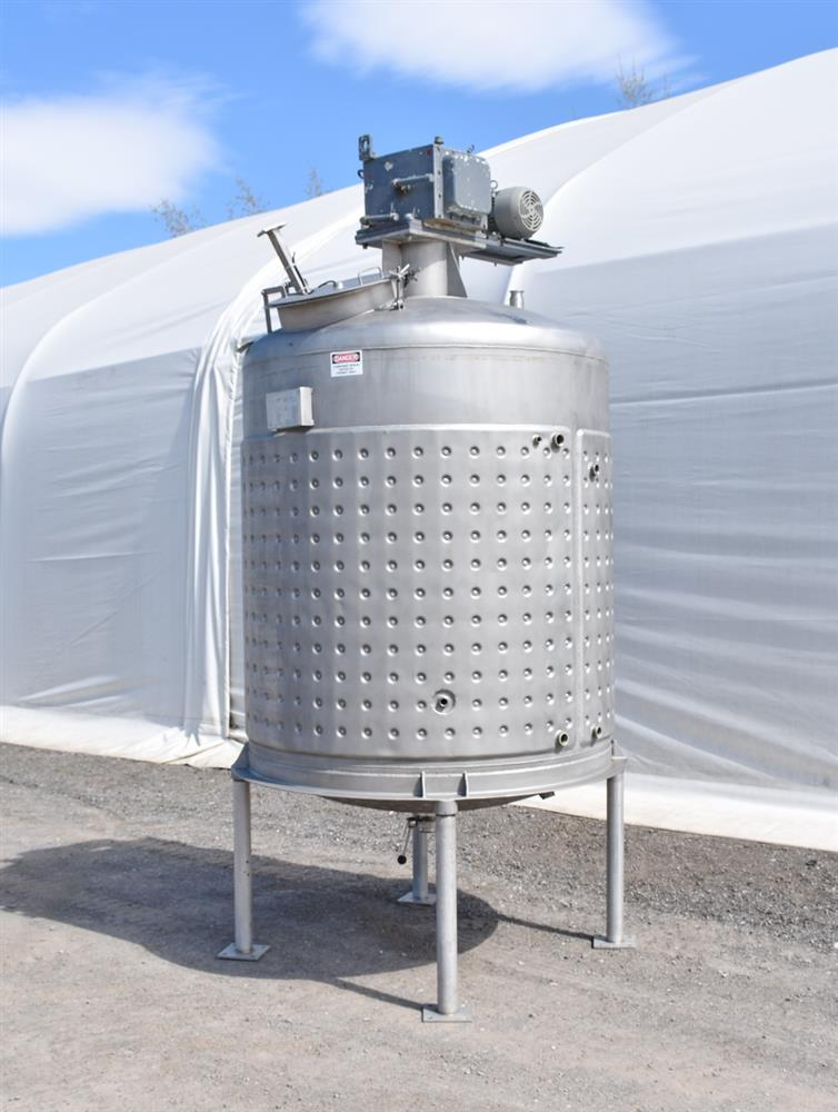 Image 800 Gallon Jacketed Tank with Mixer 1486498