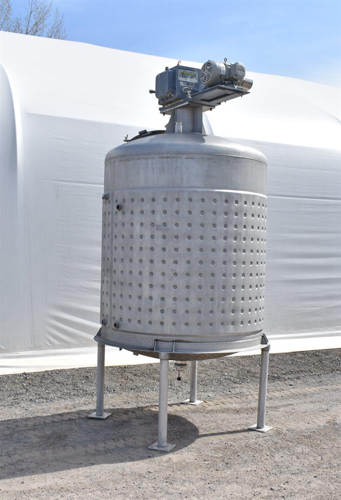 Image 800 Gallon Jacketed Tank with Mixer 1486507