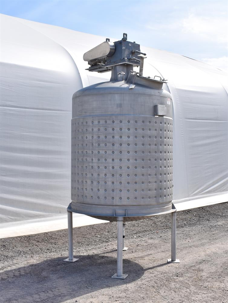 Image 800 Gallon Jacketed Tank with Mixer 1486499