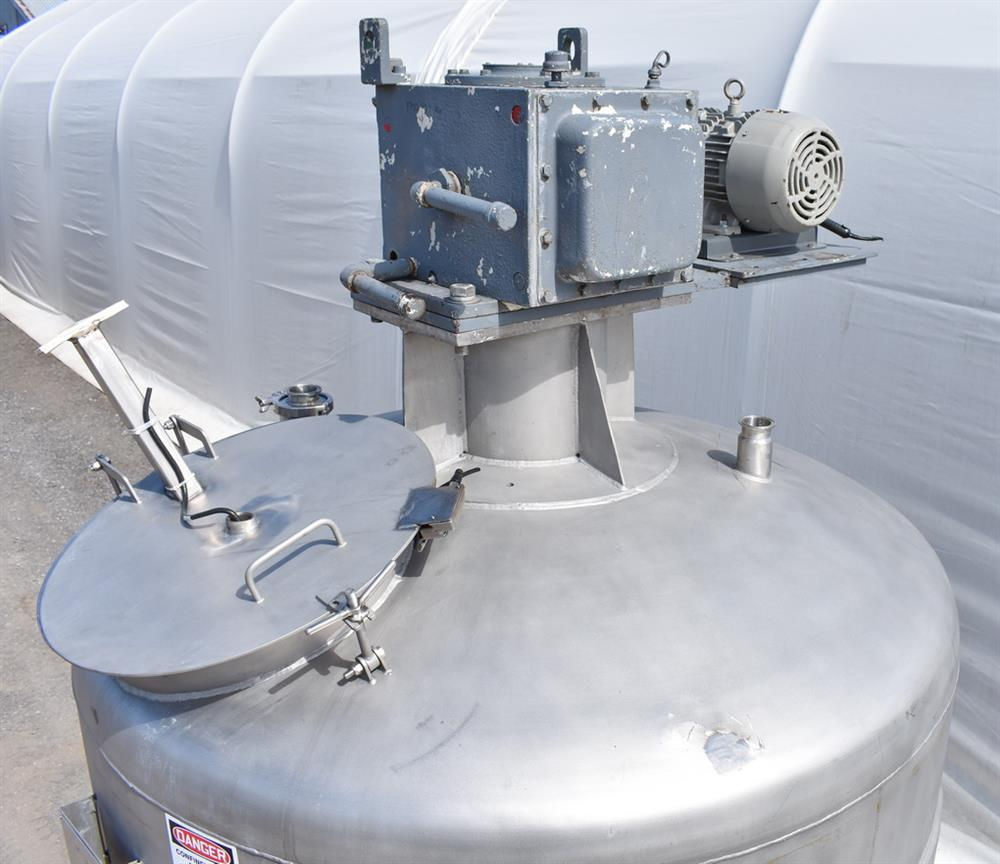 Image 800 Gallon Jacketed Tank with Mixer 1486502