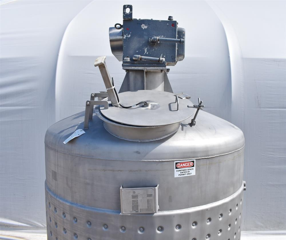 Image 800 Gallon Jacketed Tank with Mixer 1486504