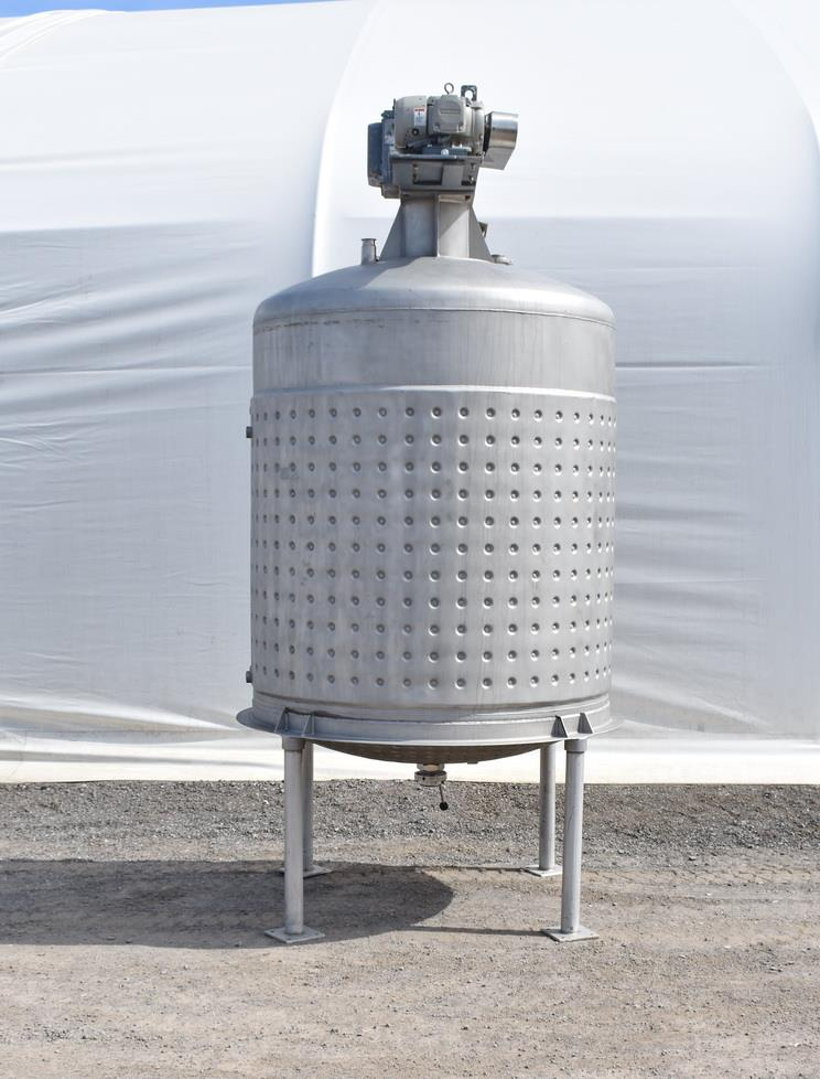 Image 800 Gallon Jacketed Tank with Mixer 1486506