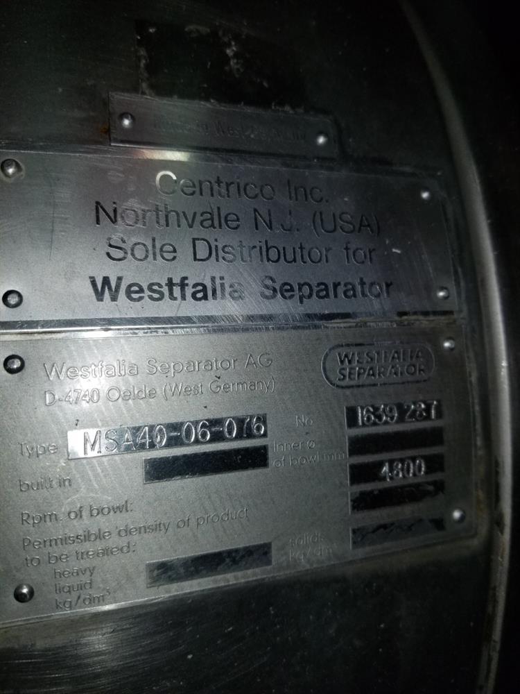 Image WESTFALIA Separator 1486552