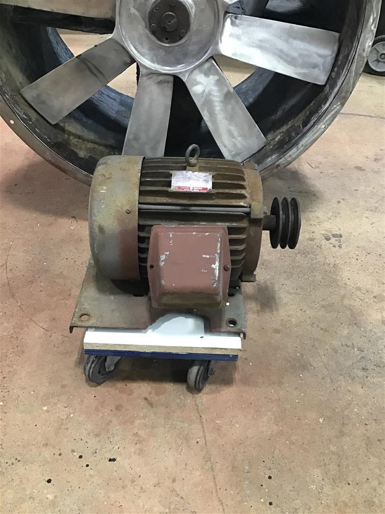 Image 36in Tube Axial Fan with 7.5 HP GE Motor 1486559