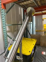 Image IPM SYSTEMS Incline Screw Conveyor - Surge Hopper and Incline Transfer Auger 1596893