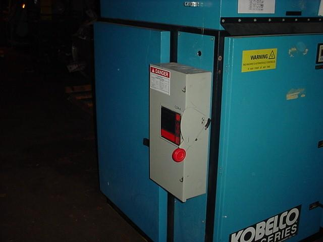 Image 60 HP KOBELCO Oil-Free 2 Stage Air Compressor 1491473