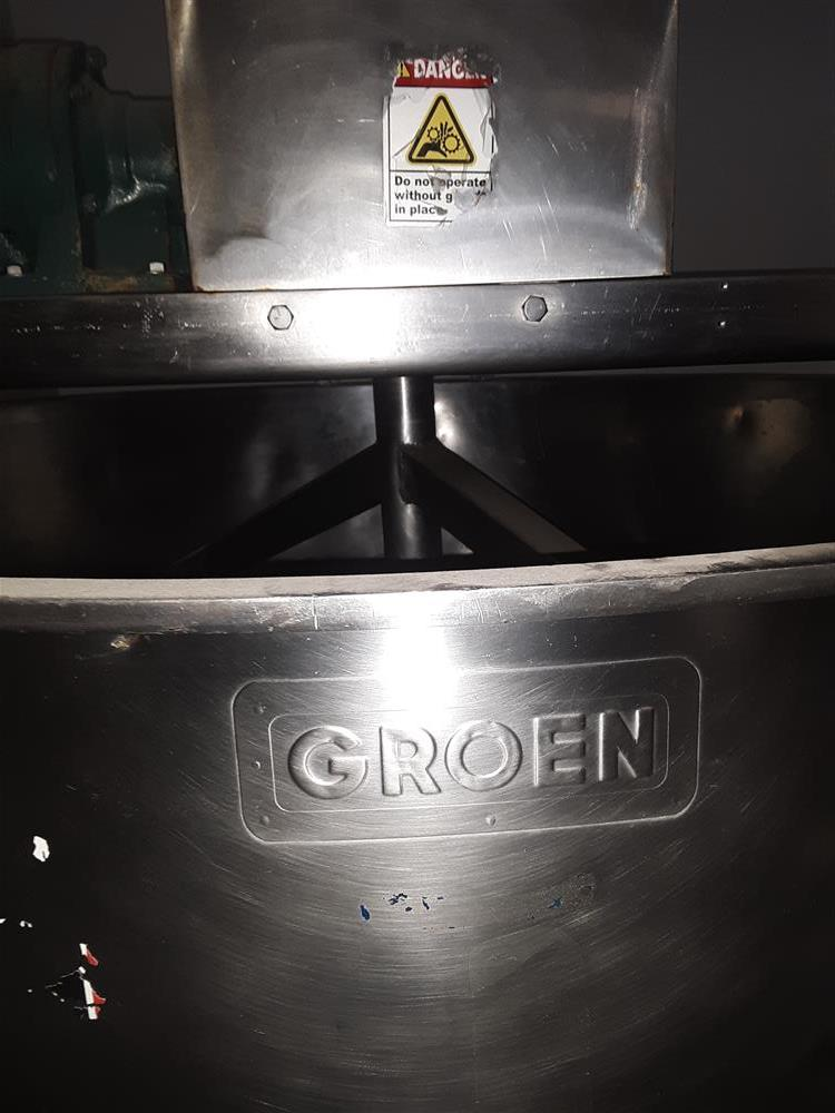 Image 300 Gallon GROEN Mixing Kettle 1491526