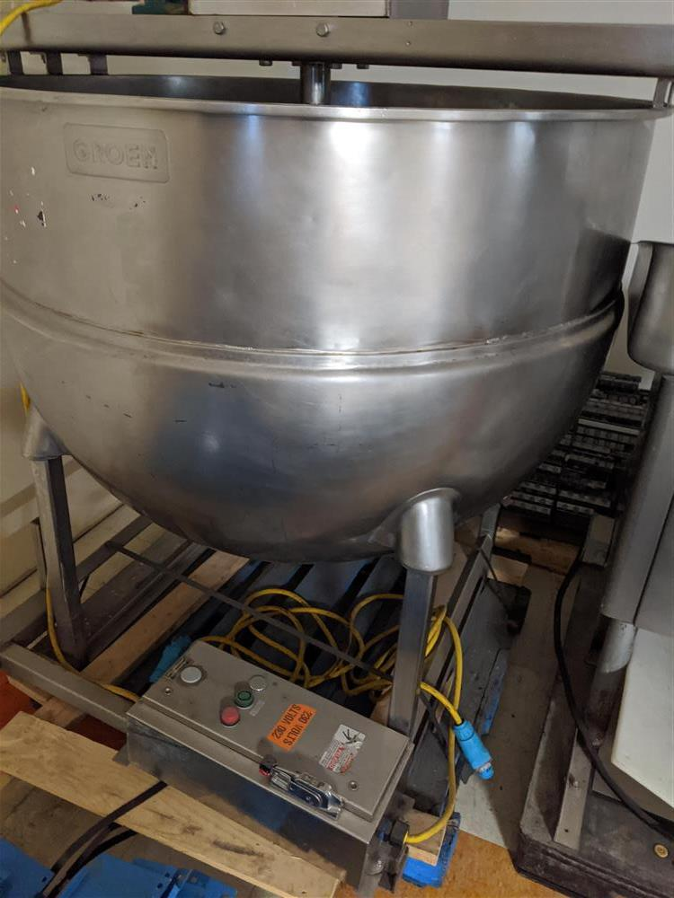 Image 300 Gallon GROEN Mixing Kettle 1493003