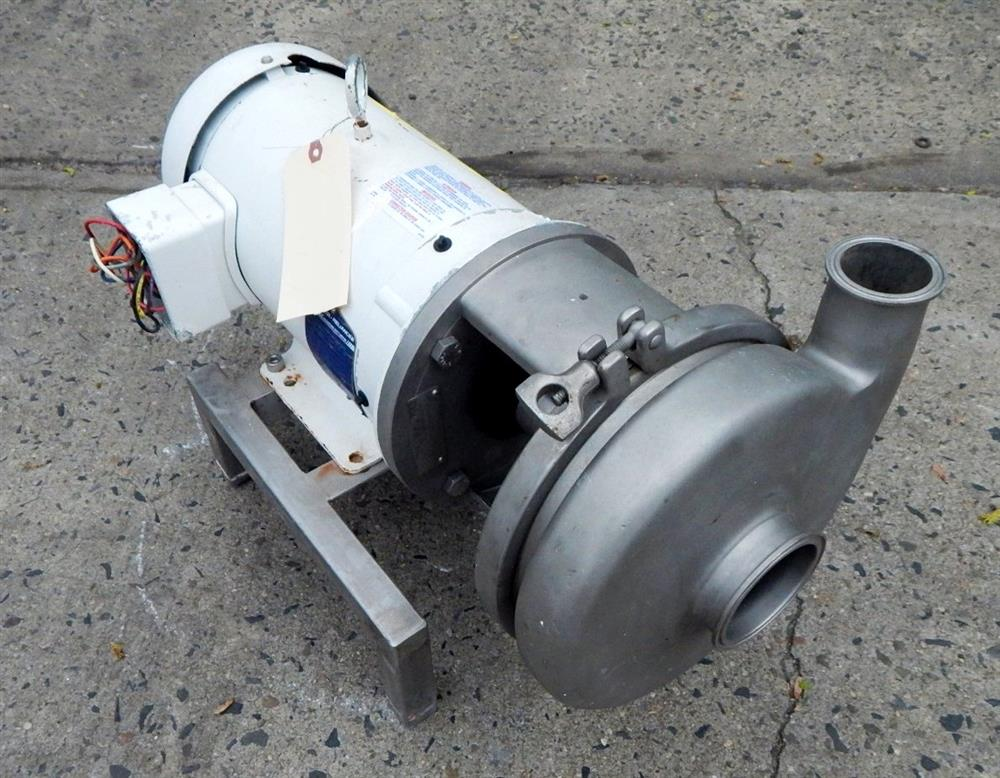 Image AMPCO Centrifugal Pump - Food Grade, Stainless Steel 1492527