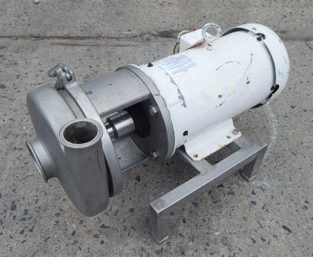 Image AMPCO Centrifugal Pump - Food Grade, Stainless Steel 1492528